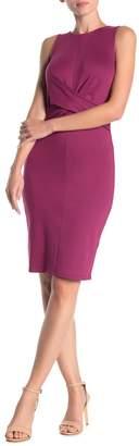 Ten Sixty Sherman Twist Front Sleeveless Sheath Dress