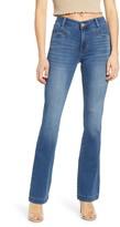 Prosperity Denim Front Pocket Flare Jeans