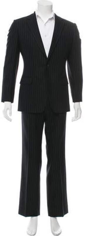 Dries Van Noten Wool Two-Piece Suit black Wool Two-Piece Suit