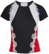 Koché Lace detail T-shirt