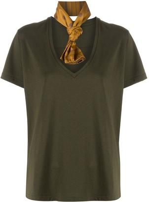Jejia neck scarf T-shirt