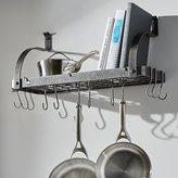 Crate & Barrel Enclume ® Bookshelf Pot Rack