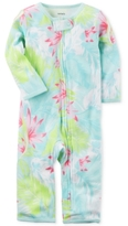 Carter's 1-Pc. Cotton Floral-Print Coverall, Baby Girls (0-24 months)