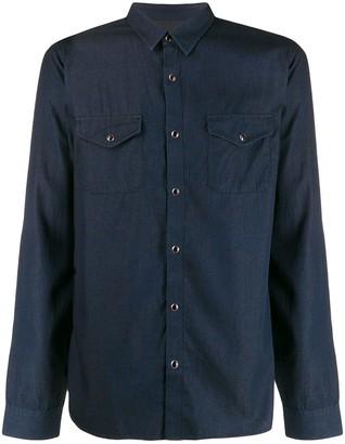 John Varvatos Plain Button Shirt