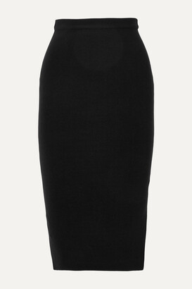 Joseph Silk-blend Midi Skirt