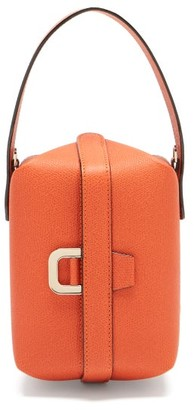 Valextra Tric Trac Saffiano-leather Bag - Orange