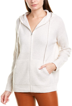 Vince Thermal Wool & Cashmere-Blend Hoodie
