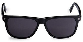 Ermenegildo Zegna 57MM Aviator Sunglasses