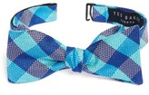 Ted Baker Men's Derby Check Silk Bow Tie