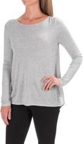 Lilla P Open-Back Swing Shirt - Long Sleeve (For Women)