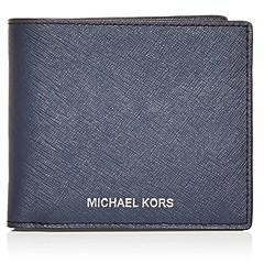 Michael Kors Mason Saffiano Leather Bi Fold Wallet