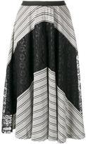 Antonio Marras lace detail skirt - women - Viscose/Polyester/Spandex/Elastane/Polyamide - 40