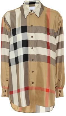 Burberry Vintage Check silk shirt