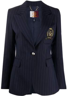 Tommy Hilfiger Crest Logo Tailored Blazer