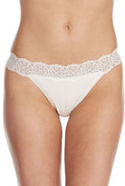 Lord & Taylor Thong with Lace Trim