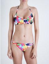 Mara Hoffman fractals print bikini top