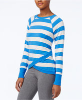 Tommy Hilfiger Crossover-Hem Striped Top, A Macy's Exclusive Style