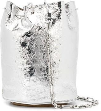 Maison Margiela Metallic-Effect Bucket Bag