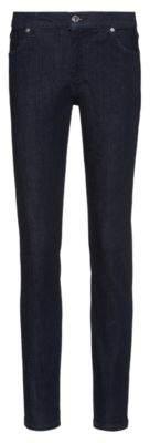 HUGO STELLA slim-fit high-waist jeans in comfort-stretch denim