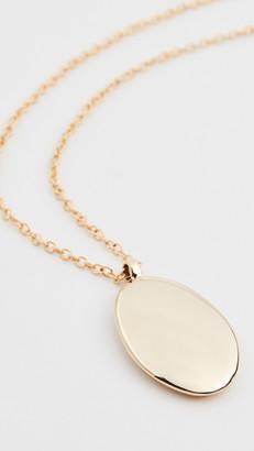 Soko Oval Medallion Pendant Necklace