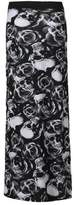Crazy Girls Womens Rose Skull Stripe Camouflage Leopard Print Long Maxi Gypsy Skirt US4-US18 (XXL-16/18, )