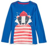 Tea Collection Boy's Salty Badger Graphic T-Shirt