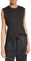Vince Women's Shirttail Pima Cotton Tank