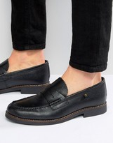 Farah Chapel Pebble Grain Loafers