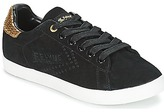 Feiyue COURT SUEDE Black / Gold