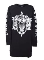 Marcelo Burlon County of Milan Printed Long Sweatshirt