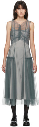 Molly Goddard SSENSE Exclusive Grey Nova Dress