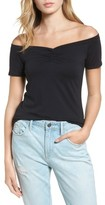 Hinge Women's Off The Shoulder Tee