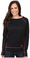 Cinch Long Sleeve Burnout French Terry Raglan