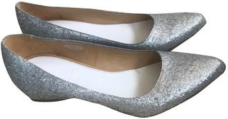Maison Martin Margiela Pour H&m Silver Glitter Ballet flats