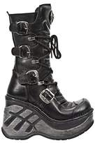 New Rock Women's M Sp9873 S1 Boots Black Size: 5.5-6