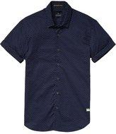 Scotch & Soda Poplin Short Sleeve Shirt - Combo A