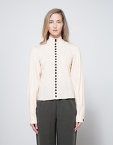 Lemaire Fitted Shirt in Champagne