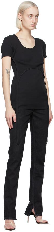 Thumbnail for your product : Helmut Lang Black Halter T-Shirt