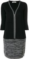 D-Exterior D.Exterior v-neck knitted dress