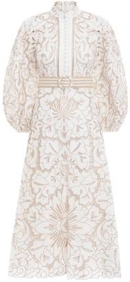 Zimmermann Edie Embroidery Long Dress