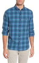 Michael Bastian Men's Trim Fit Plaid Flannel Sport Shirt