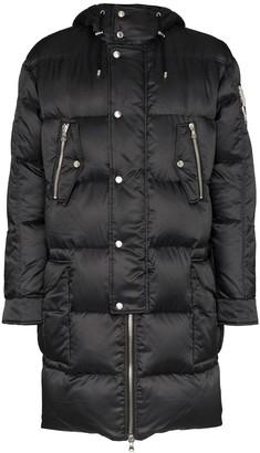 Balmain long-length padded coat