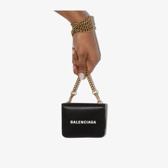 Balenciaga black Everyday leather mini bag