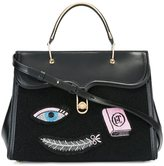 Olympia Le-Tan multi patch tote - women - PVC/Bos Taurus/Wool Felt - One Size