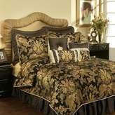 Bed Bath & Beyond Austin Horn Classics Verona King Duvet Cover in Black/Gold