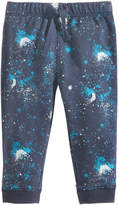 First Impressions Pull-On Galaxy-Print Jogger Pants, Baby Boys (0-24 months), Created for Macy's