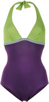 Laura Urbinati halterneck swimsuit - women - Polyamide/Spandex/Elastane - 42