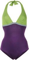 Laura Urbinati halterneck swimsuit - women - Polyamide/Spandex/Elastane - 44
