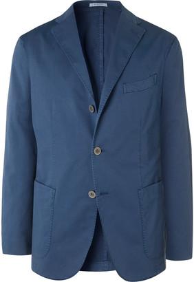 Boglioli Green K-Jacket Slim-Fit Unstructured Stretch-Cotton Twill Suit Jacket