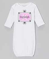 Pink Frame Personalized Gown